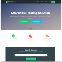 Complete Web Hosting Business With Website Builder Full Customization with Admin