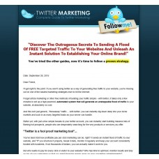 Turnkey Twitter Marketing Website Script Autopilot Business