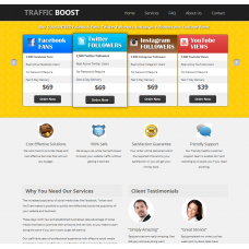 Turnkey Social Media Reselling Business Script