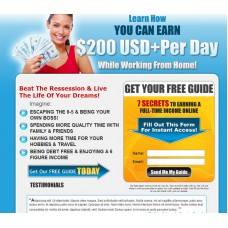 Make Money Squeeze Page