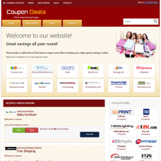 Professional Coupon Website