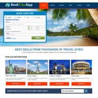 Automatic Travel Site - Hotels Flights Cruises & Rental Cars Make $1 - $4/Click